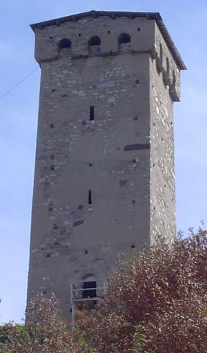 Wieża swańska. Fot: T. Wicherkiewicz