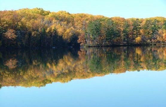 Jezioro w Wisconsin