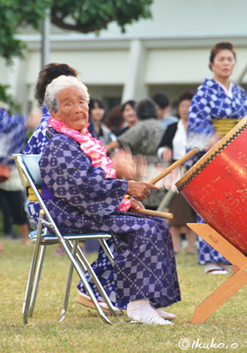 94-letnia perkusistka